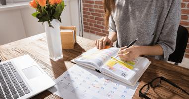 cleaning calendar schedule